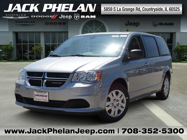new 2018 dodge grand caravan se passenger van in countryside d6971