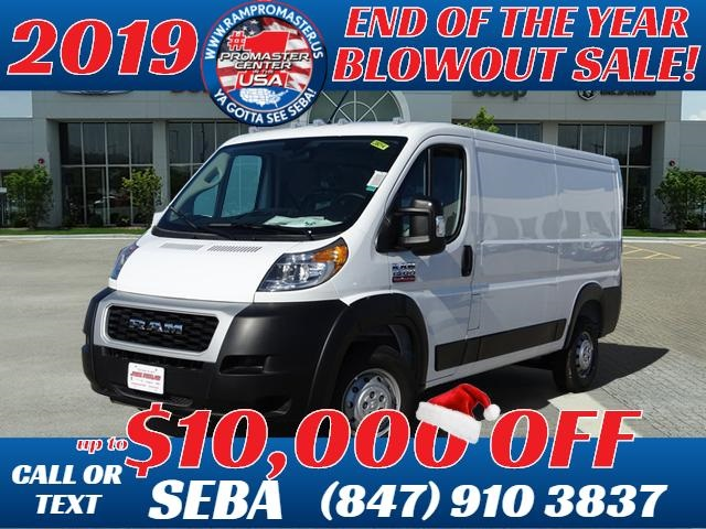 New 2019 RAM ProMaster 1500 Low Roof 136 WB