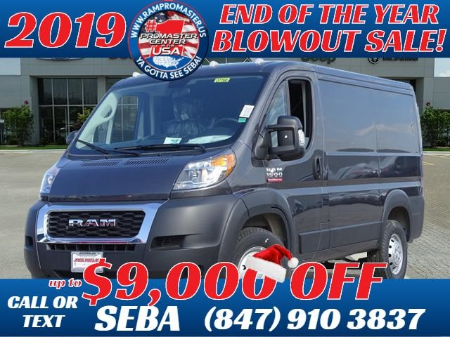 New 2019 RAM ProMaster 1500 Low Roof 118 WB
