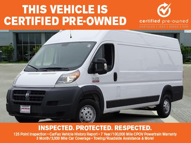 a9d31b31d2 Pre-Owned 2017 Ram ProMaster Cargo Van 3500 High Roof 159 WB EXT ...