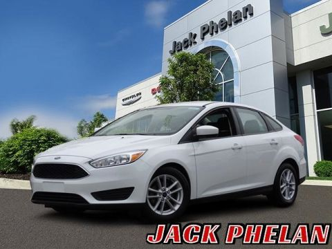 Pre-Owned 2018 Ford Focus SE FWD