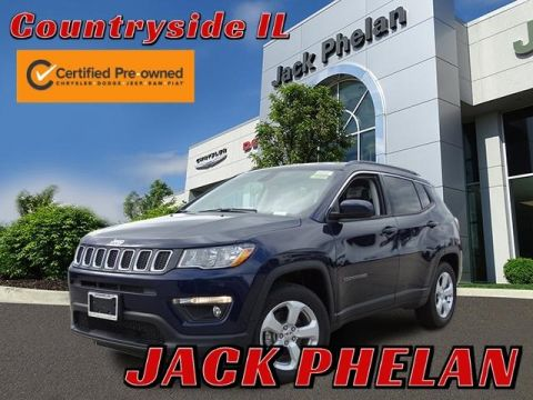 Pre-Owned 2019 Jeep Compass Latitude FWD