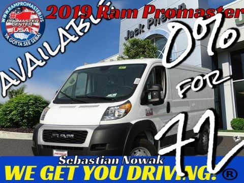 2019 RAM ProMaster 1500 Low Roof 136 WB