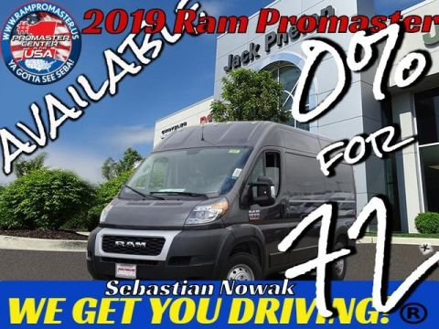 2019 RAM ProMaster 1500 High Roof 136 WB