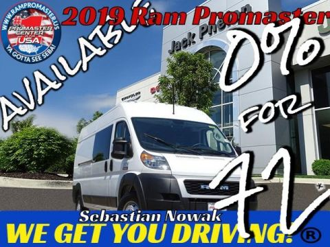 2019 RAM ProMaster 2500 High Roof 159 WB