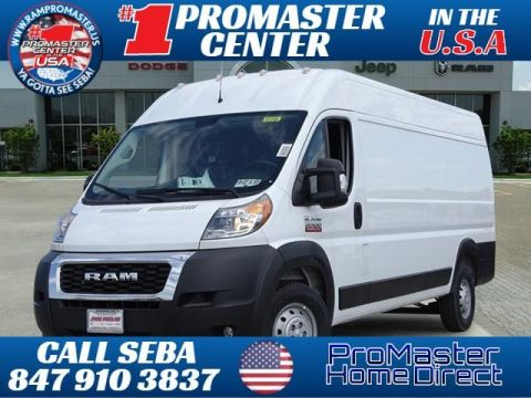 New 2019 RAM ProMaster 3500 High Roof Cargo Van 159 WB EXT Cargo Van 159 WB EXT